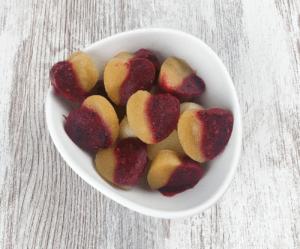 10 kalorienarme Sommersnacks - Apfelmus Bonbons