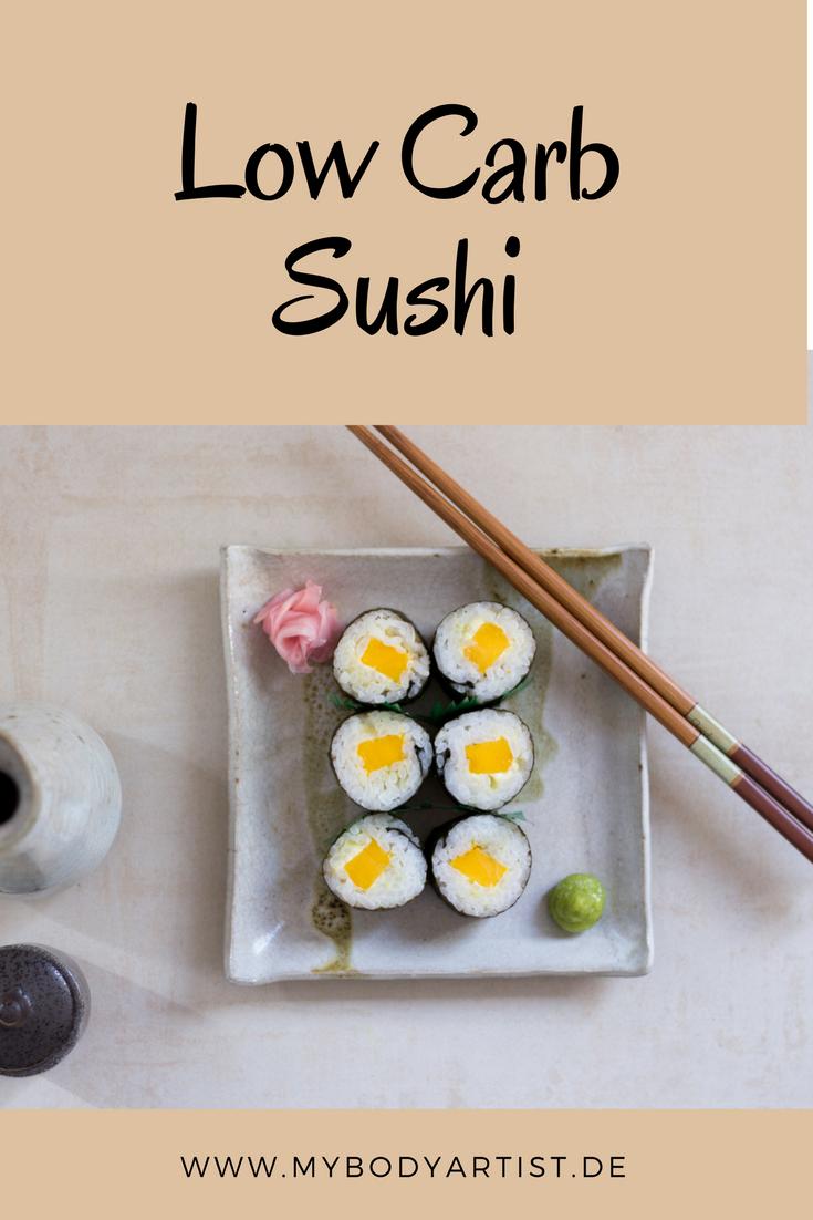 low carb sushi selber machen so geht es. Black Bedroom Furniture Sets. Home Design Ideas