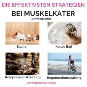 In diesem Artikel erfährst Du, was wirklich bei Muskelkater hilft und wie Du ihn in der Zukunft vermeiden kannst. www.mybodyartist.de