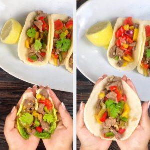 Diese Tacos sind ideal für alle, die lecker essen, aber gleichzeitig auch ein bisschen auf ihre Figur achten wollen. Denn sie sind nicht nur kalorienarm, sondern auch echt sattmachend. www.mybodyartist.de