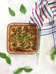 Diese Low Carb Zucchini Cannelloni sind besonders zu empfehlen, wenn Du Dich glutenfrei oder einfach etwas nährstoffreich ernähren willst.